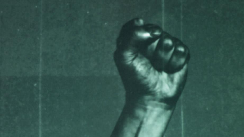Nae Pasaran raised fist