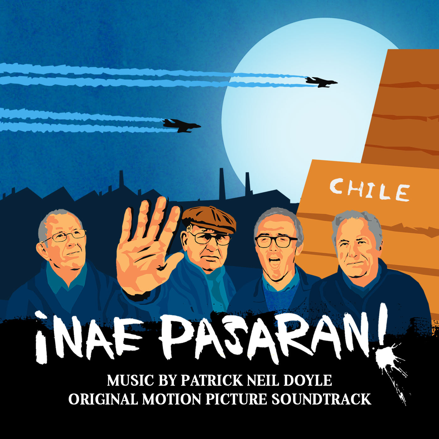 27 August 2018 – Nae Pasaran soundtrack now available!