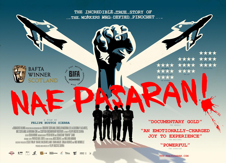 Nae Pasaran shop poster
